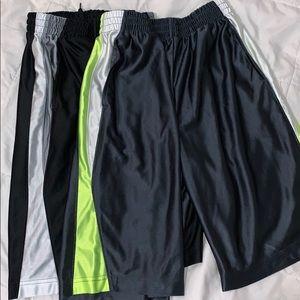 Boys athletic shorts set